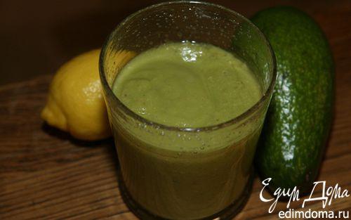 Рецепт Сок из авокадо, ананаса и лимона