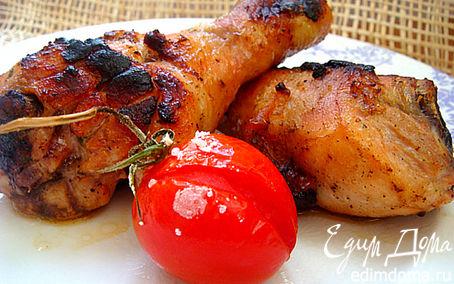 Рецепт Куриные голяшечки и бедрышки в горчичном маринаде