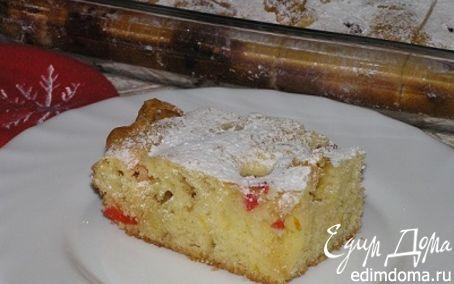 Рецепт Пирожное Блондинка с вишней (Tescoma)