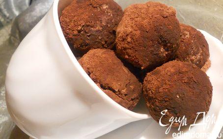 Рецепт Шоколадные конфеты с ромом и апельсином