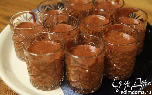 Рецепт Шоколадно-сливочный мусс