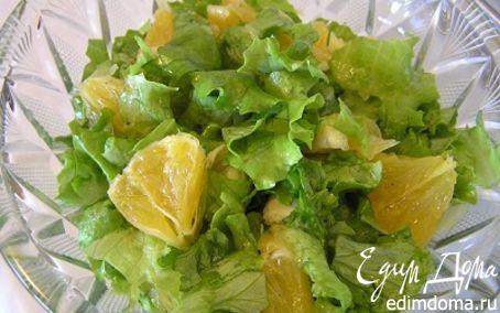 Рецепт Салат с апельсинами по-мароккански