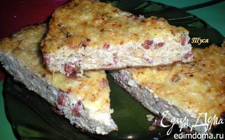 Рецепт Сырная запеканка с капустой