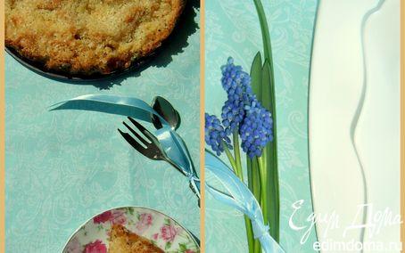Рецепт Кокосовый двухслойный пирог