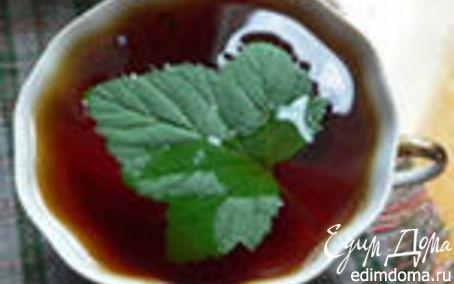 Рецепт Чай с соком из черной смородины