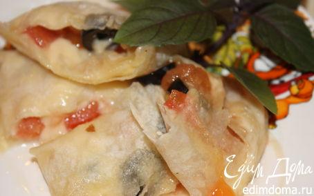 Рецепт Рулетик из лаваша на завтрак