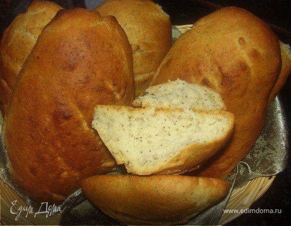 "Хлеб ""монж"" с зернышками мака"