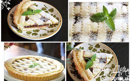 Рецепт пирог с вареньем (с алычи)