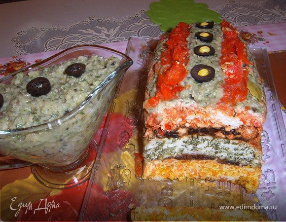 Куриный торт