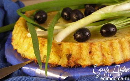 Рецепт Кускус на укус (пирог с беконом)