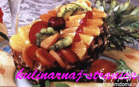 Рецепт Фаршированный ананас