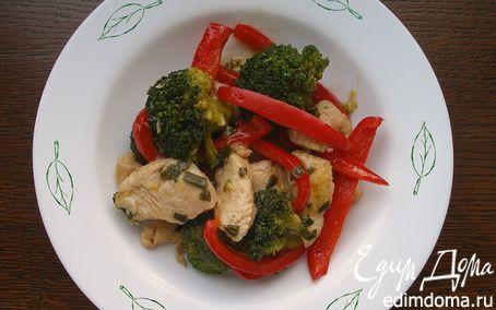 Рецепт Овощное сотэ с имбирем