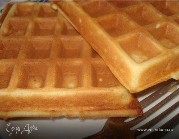 Рецепт мягких вафель фото