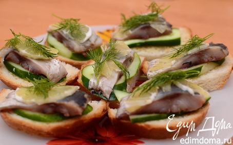 бутерброды селедкой рецепты фото простые