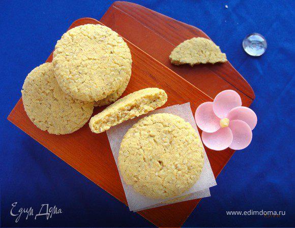 Кукурузное кардамоновое печенье