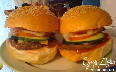 Рецепт Гамбургер по-домашнему