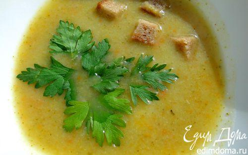 Рецепт Суп-пюре из цветной капусты и брокколи