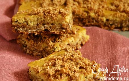 Рецепт Овсяный пирог с крошкой