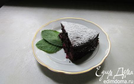 Рецепт Шоколадный пирог с вишней