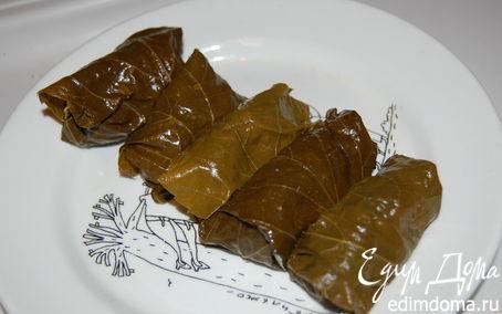 Рецепт Долма из виноградных листьев.