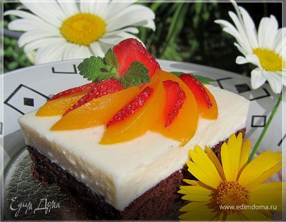 Легкий торт с суфле
