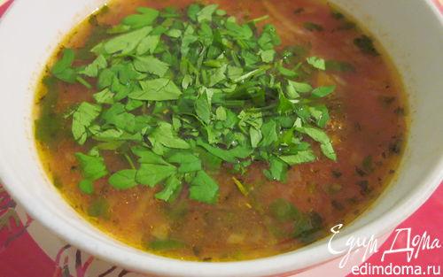 """Рецепт """"Минестроне"""" классический овощной суп (меню итальянского обеда № 1)"""