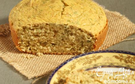 Рецепт Кукурузный хлеб с мятой и укропом