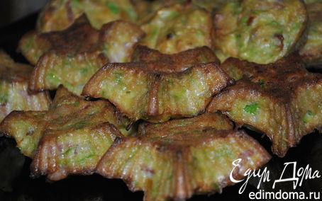Рецепт Кабачковые кексы с беконом