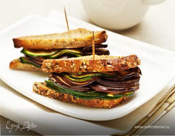 Сэндвич с цукини и сыром