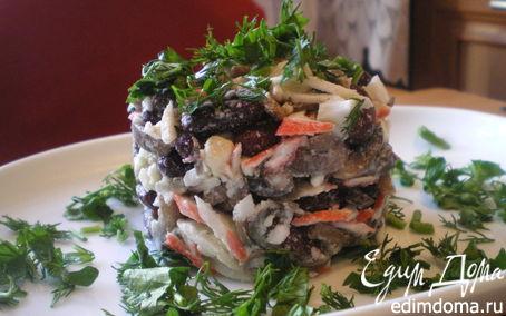 Рецепт Салат с красной фасолью.