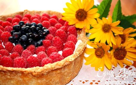 Рецепт Ягодная тартинка