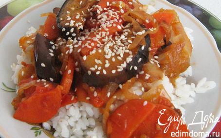 Рецепт Овощи с рисом в японском стиле