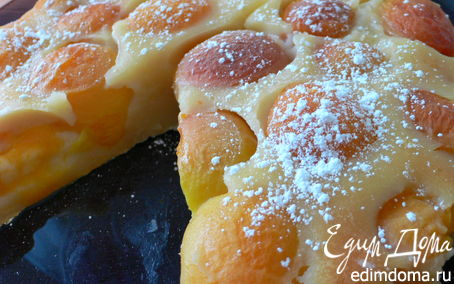 Рецепт Пудинг из абрикосов