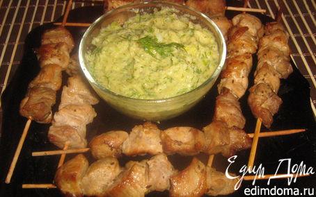 Рецепт Свинина на шпажках или пикник на диване!