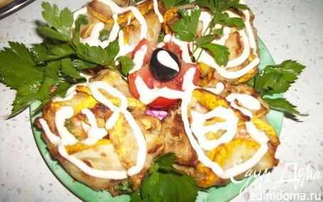 Рецепт Тимбалы из кабачков