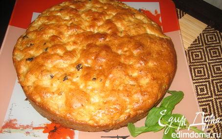 Рецепт Яблочный пирог с изюмом, или реабилитация № 2.