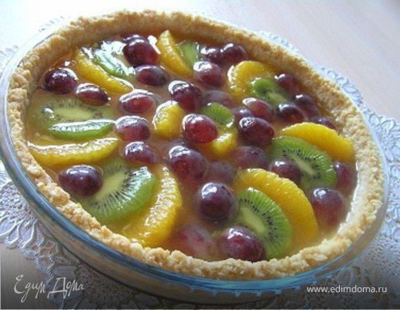 Пирог с фруктами рецепты с фото