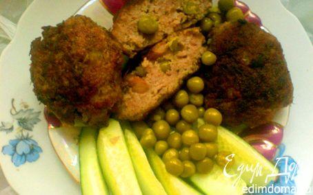 Рецепт ЗРАЗЫ мясные с бобовыми