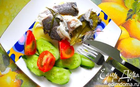 Рецепт Дорада с солеными лимонами и средиземноморскими травами