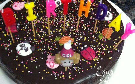"Рецепт Chocolate Mud Cake (Торт ""Шоколадная Грязь"")"