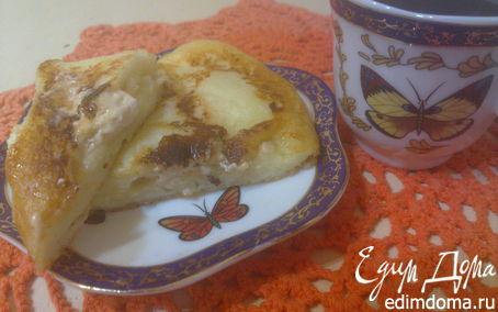 Рецепт Творожные оладьи с зефиром