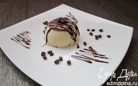 Рецепт Кофейно-шоколадный десерт (обед во французском стиле № 2)