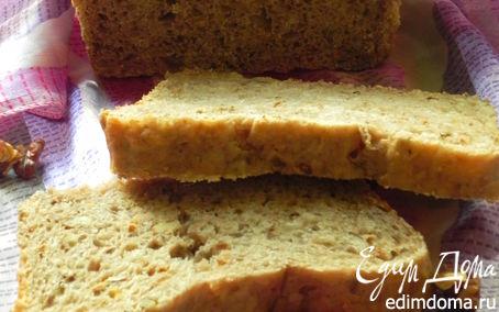 Рецепт Хлеб гречневый с орехами