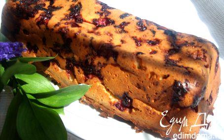 Рецепт Кекс фруктово-ягодный