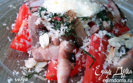 Рецепт Теплый мясной салат