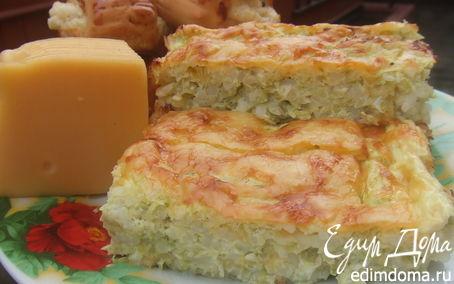 Рецепт Запеканка из риса и кабачков