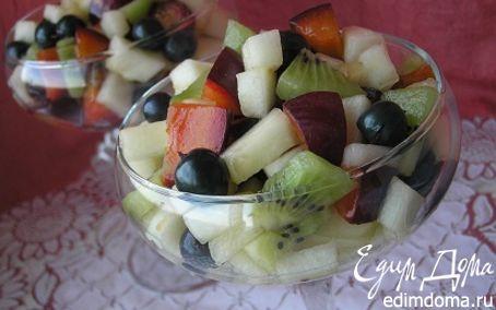 Рецепт Фруктовый салат с дыней для ТаИс :)