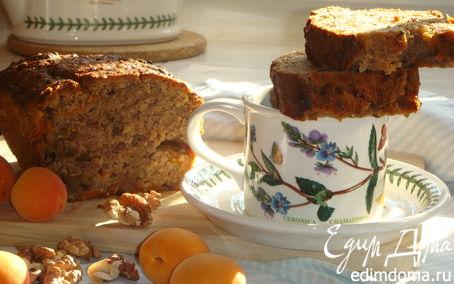 Рецепт Абрикосово-яблочный кекс с грецким орехом и безупречной репутацией