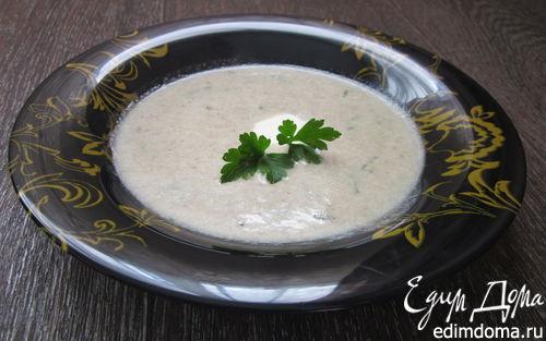 Рецепт Суп-пюре с цукини и грибами
