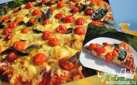 """Рецепт Пицца """"Двойной сыр"""" или """"В субботу с утречка"""""""